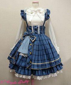 Basic Dresses Guide of Lolita Fashion Sub-styles Style Lolita, Mode Lolita, Gothic Lolita, Kawaii Fashion, Lolita Fashion, Cute Fashion, Rock Fashion, Fashion Boots, Kawaii Dress
