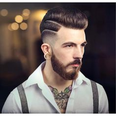Haircut by braidbarbers http://ift.tt/1Mr6PAu #menshair #menshairstyles…