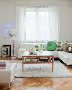 Norwegian living room.