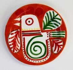 Ceramiche De Simone — Sicily, Italy    Piatti mangiallegro  PTMA  - Decoro Marettimo