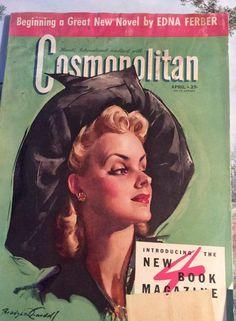 Vintage 1941 Magazine Cosmopolitan April by TimelessTreasuresVCB