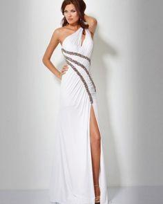 Long white dresses - 3 PHOTO!