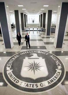 Received a special private tour of the Central Intelligence Agency and National Geospatial Intelligence Agency. June 2009