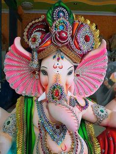 Photo Jai Ganesh, Ganesh Lord, Ganesh Idol, Shree Ganesh, Ganesh Chaturthi Decoration, Ganesh Chaturthi Images, Shri Ganesh Images, Ganesha Pictures, Turbans