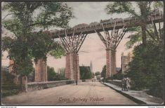 Railway Viaduct, Truro, Cornwall, 1906 - Frith's Postcard