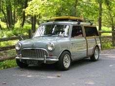 Classic Cool - Austin Mini Countryman 65 Stylish and Gent's Car Mini Countryman, Mini Clubman, Austin Mini, Austin Cars, Classic Mini, Classic Cars, Moto Vespa, Automobile, Cabriolet