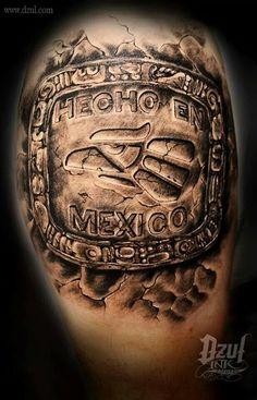 18 Best Tattoos Images Azteca Tattoo Mayan Tattoos Aztec Art