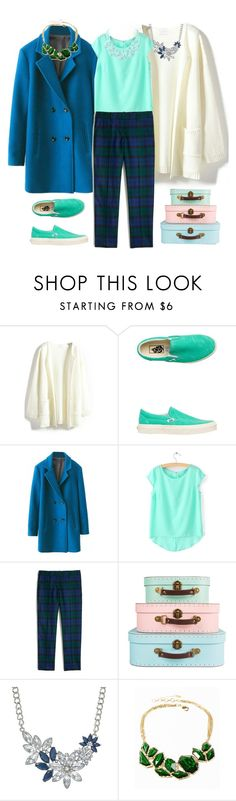 """""""Cool staff"""" by bel-ochka ❤ liked on Polyvore featuring Vans, J.Crew, Amrita Singh, Humble Chic, women's clothing, women's fashion, women, female, woman and misses"""