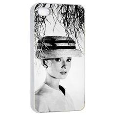 Audrey Hepburn iPhone Case iPhone 4 4s Case Cover by AlphaCase, $16.00