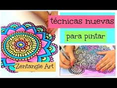 Zentangle Art Paso a Paso Paisley Color, Henna Candles, Diy Back To School, Doodles Zentangles, Using Acrylic Paint, Henna Art, Colorful Drawings, Doodle Art, Diy Art