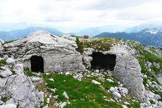 Sulle tracce della Grande Guerra - Gli itinerari tra i monti della prima guerra mondiale, Friuli.