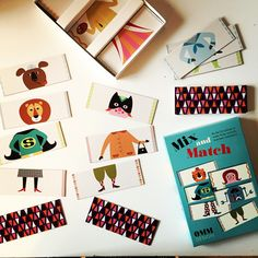 Mix and match med bilder av Ingela P Arrhenius från OMM design