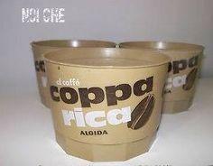 Coppa Rica al caffè Algida nella sua vaschettina vintage :)