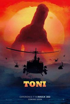 Toni Erdmann / Kong Skull Iland cross poster by przezajac