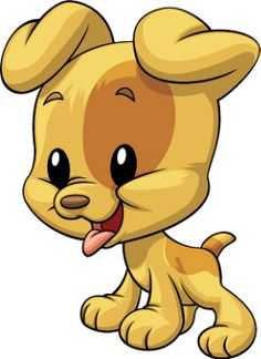 Mis Laminas para Decoupage (pág. 648) | Aprender manualidades es facilisimo.com Cartoon Clip, Cute Cartoon, 365 Kawaii, Baby Animals, Cute Animals, Cute Clipart, Baby Puppies, Cute Images, Dog Art