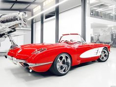 Chevrolet corvette c1 pogea racing 1959