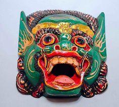 Balinese Barong Mask - Bali, Beast Mask, Dance