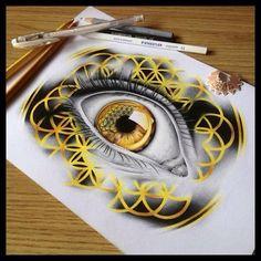 Sempiternal eye drawing ! Artist : @callamgodley
