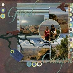 grand canyon scrapbook layouts | 1000+ images about Scrapbooking - Southwest on Pinterest | Grand ...