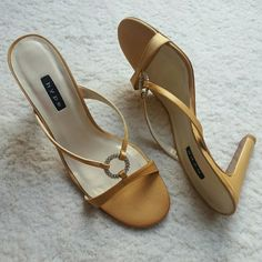 02289c04c Cole Haan Nike Air Gold Metallic Flats