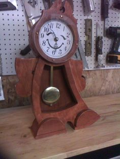 Boy Clock from the movie beauty and the beast by mannyswoodshop