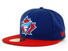 Toronto Blue Jays New Era MLB Cooperstown 59FIFTY Hats 59fifty Hats 9a754b5e601
