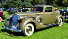 1937 Packard 1507 coupe