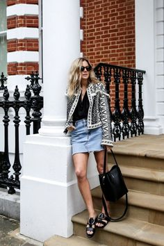 end of summer outfit chic