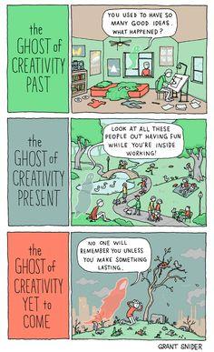 INCIDENTAL COMICS: The Ghosts of Creativity