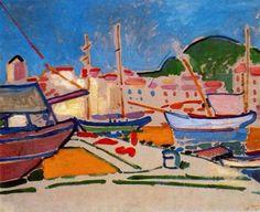 """""""Порт в Гавре""""(1905 – 1906), Андре Дерен"""