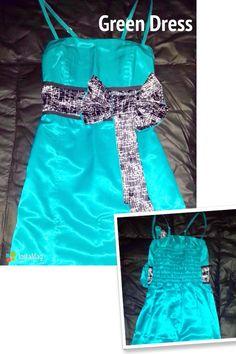 Green #Dress