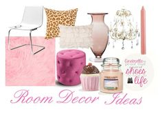 """Room DEcor Wishlist"" by juicydaily ❤ liked on Polyvore featuring interior, interiors, interior design, home, home decor, interior decorating, Cost Plus World Market, Shabby Chic, Universal Lighting and Decor and Yankee Candle"