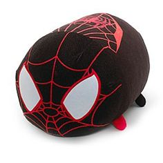 Disney Miles Morales Tsum Tsum Large Soft Toy | Disney StoreMiles Morales Tsum Tsum Large Soft Toy - This Miles Tsum Tsum large soft toy is huggable and stackable. This cute concept from Japan offers a quirky version of the Spider-Man character, with 3D details and a squeezy bean bag tummy