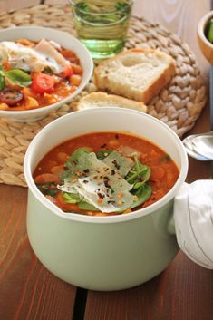 The one with all the tastes Chana Masala, Thai Red Curry, Soup, The One, Ethnic Recipes, Soups