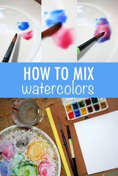 Learn to mix watercolors and build a foundation for watercolor painting. It's an easy process, and it can open your world to endless color possibilities. Here, we'll guide you through the process so that you can mix watercolors with confidence and ease. Watercolor Painting Techniques, Watercolor Tips, Watercolour Tutorials, Painting Lessons, Painting Tips, Watercolour Painting, Art Lessons, Painting & Drawing, Beginner Painting