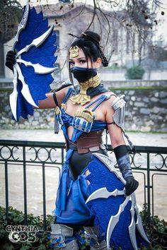 kamikame-cosplay: Princess Kitana cosplay from Mortal Kombat X by Cynthia Cos