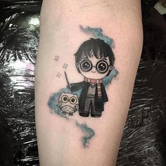 Ideas Tattoo Cute Owl Harry Potter For 2019 Hedwig Tattoo, Hp Tattoo, Back Tattoo, Cute Tattoos, Body Art Tattoos, Small Tattoos, Tatoos, Ink Tattoos, Harry Potter Owl
