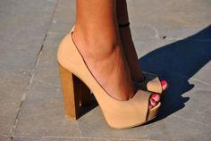 always a sucker for a chunky heel!