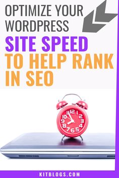 Want to optimize your WordPress blog for speed to rank better in SEO? Check out these tips! From lazy loading your images to picking the right blog host to setting up CDN. #kitblogs #wordpressblog #websitespeed #blogspeed #increasesitespeed #blogloadingslow