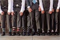 Photo Idea: Guys with mismatched socks.