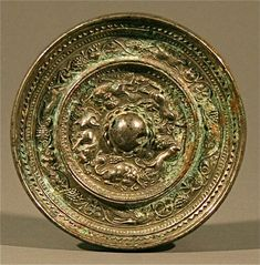 Chinese Style Antique Artifact Bronze Magic Mirror Art Advisor, Bronze Mirror, Magic Mirror, A Level Art, Bone Carving, Through The Looking Glass, Ancient Artifacts, Chinese Antiques, Artist Painting
