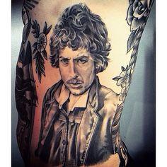 Bob Dylan Tattoo
