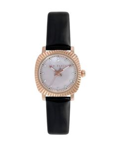 Pearl face watch - Black | Gifts | Ted Baker