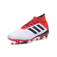 Adidas Classic - Good 2018 Adidas Predator 18.1 FG White Red Football Shoes  Outlet Shop 7ab16430e382a