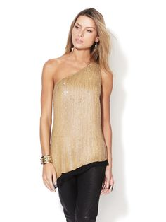 When will this hideous one-shoulder trend just die?!!!! Young people should not be wearing this. Phillip Lim, you're the bomb.com, but this top is  HELLNO.NET!!