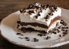 Chocolate Lasagna Meets Tiramisu | TheBestDessertRecipes.com