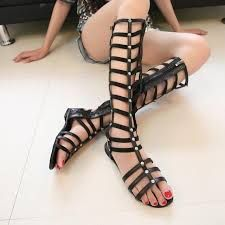 Image result for flat strappy shoes
