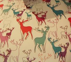 what a gorgeous deer pattern, fab bright colours perfect for summer!