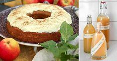 Äppelträd i trädgården? Grattis! Passa på att göra egen äppelmust, klassiska äppelkakor, saftigt bröd med äpple och mycket annat. Land, Bagel, Doughnut, Bread, Sweet, Desserts, Candy, Tailgate Desserts, Deserts