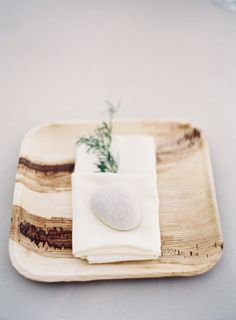 Wood chargers for a rustic touch: http://www.stylemepretty.com/little-black-book-blog/2016/06/24/beautiful-blooms-cute-kids-pinterest-wedding/ | Photography: Sposto Photography - http://spostophotography.com/